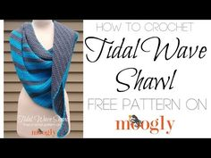 DROPS Knitting Tutorial: How to start the shawl in DROPS 172-20 - YouTube