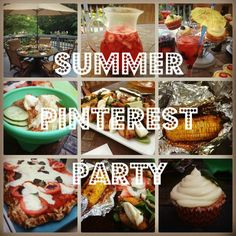 Summer Pinterest Party I eating bender