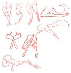 Gorling Leg Anatomy 1 by R3llO