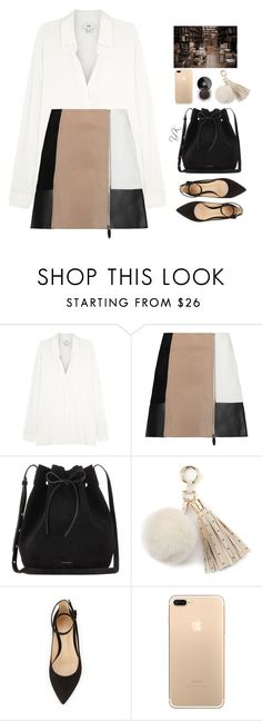 """""""My Little Secret"""" by youryulianna ❤ liked on Polyvore featuring Vince, Alexander Wang, Mansur Gavriel, Juicy Couture and Chanel"""