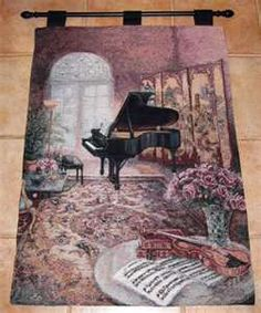 music room  lena liu tapestry