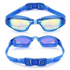 CHEX 4 x Pairs Atlantis One Piece Frame Soft Seals Swimming Goggles