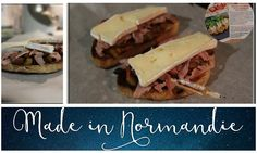 Tartines Normande - La popote de Fibie
