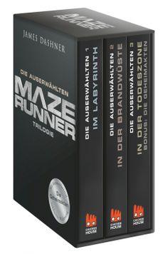 Maze Runner-Trilogie - Die Auserwählten - Taschenbuch  CARLSEN Verlag  ...muss ich gleich mal auf die Vorbestellliste packen :)