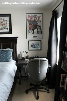 Setting for Four: Teenage Boy's Bedroom