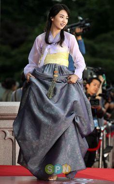 korean actress park hasun in hanbok #hanbok
