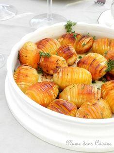 Pommes de terre à la suédoise (Hasselbackspotatis) #recette #pommedeterre #facile