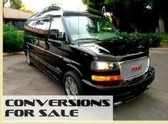 2014 GMC 9 Passenger Majestic Presidential Conversion Van