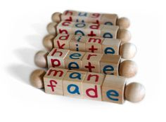 Montessori Silent E Reading Blocks, Educational Toy, Beginning Reader Tools, First Grade via Etsy