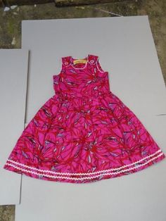 Cute girls dress available at https://www.facebook.com/ephiestitches/