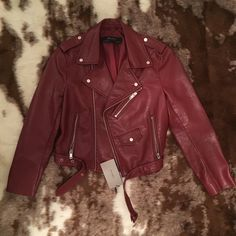 Zara Jackets & Blazers - BRAND NEW WITH TAGS Zara Faux Leather Jacket