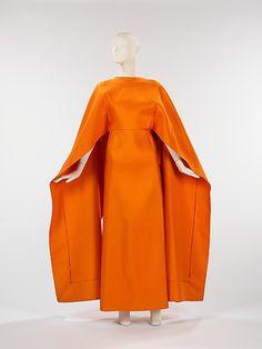 Dress, Evening  Madame Grès (Alix Barton)  (French, Paris 1903–1993 Var region)  Date: 1967 Culture: French Medium: silk