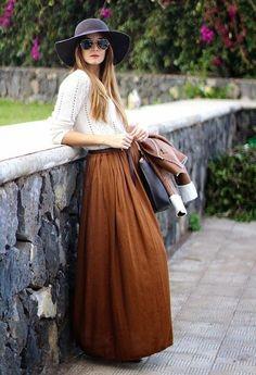 como usar saia longa no inverno http://www.crisfelix.com.br/2014/05/para-usar-no-inverno-saia-longa.html