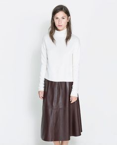 Image 1 of TURTLE NECK SWEATER from Zara