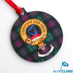 Clan Crest Christmas Ornament