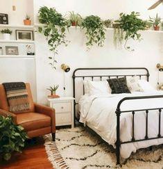 Modern rustic farmhouse bedroom design ideas (7)