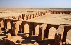 PINTEREST: @MUSKAZJAHAN - Abu Dulaf Mosque Samarra,Iraq. AD859