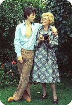 Mick Jagger and Leni Riefenstahl