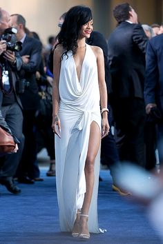 Rihanna in Adam Selman: wow, stunning