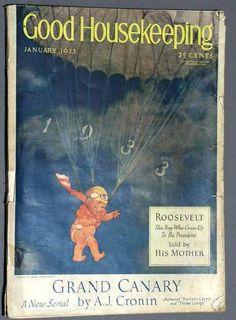 Image detail for -Jan 1933 Good Housekeeping Mag~Jessie Wilcox Smith | eBay