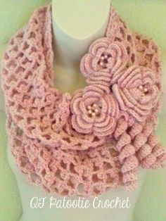 Blushing Flowers ... by craftydeb954 | Crocheting Pattern