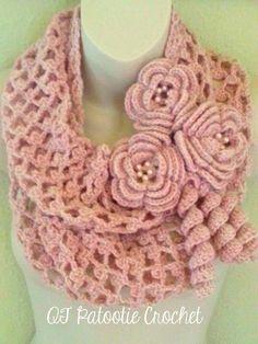 Blushing Flowers ... by craftydeb954 | Crocheting Pattern
