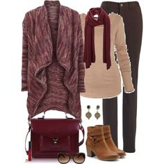 """Fifty, Not Frumpy.  Love it.  """"Not Your Mom's Cardigan"""" by fiftynotfrumpy on Polyvore"""