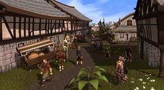 RuneScape village
