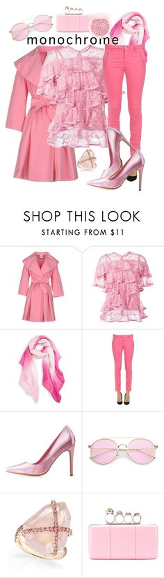 """you can't be too rich or too pink"" by taffyd1 ❤ liked on Polyvore featuring Moschino Cheap & Chic, Elie Saab, Caslon, Mason's, Charlotte Russe, Alexander McQueen and Guerlain"
