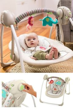 In this guide, we will be looking into a few great baby and models to help you find the best baby swing for your little one. First Pregnancy Gifts, First Pregnancy Announcements, Diy Educational Toys For Toddlers, Baby Swings And Bouncers, Toddler Boy Toys, Infant Classroom, Minimalist Baby, Baby Learning, Infant Activities