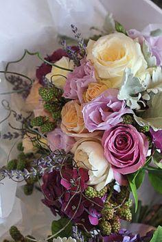 Lavender and lilac bouquet
