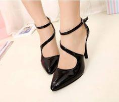 Thời trang giày dép nam nữ  - Túi xách - Ví nữ : Những mẫu giày cao gót nữ mang sắc màu mùa hè