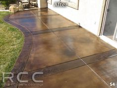 Concrete Staining. Love the color and texture in it