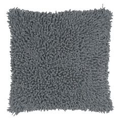 Rizzy Home Shag Decorative Throw Pillow : Target