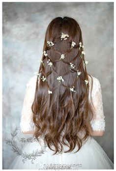 Saree Hairstyles, Open Hairstyles, Indian Bridal Hairstyles, Braided Hairstyles For Wedding, Hairdo Wedding, Wedding Hair Pieces, Hair Upstyles, Indian Bridal Makeup, Hair Videos