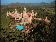 Palace of the Lost City: South Africa is home to one of the world& most extraordinary hotels. It offers an overload of African images and is totally over the top. The Lost City is make-believe, but the crocodiles around the golf course are the real thing. Sun City Hotel, Sun City Resort, City Golf, Sun City South Africa, Places To Travel, Places To See, Travel Destinations, Holiday Destinations, North West Province