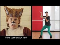 THE FOX - Ylvis Dance TUTORIAL   What Does The Fox Say (MIRRORED)   Music Video Choreography