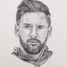 Lionel Messi by albasketch #draw #drawing #illustration #art #artist #sketch #sketchbook #ink #Messi #Leo #LeoMessi #Lionel #football #fcb #Barça #albasketch