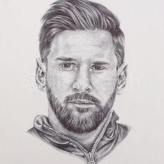 Lionel Messi by albasketch #draw #drawing #illustration #art #artist #sketch #sketchbook #ink #Messi #Leo #LeoMessi #Lionel #football #fcb #Barça #albasketch