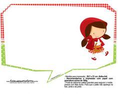 Plaquinhas Chapeuzinho Vermelho 20