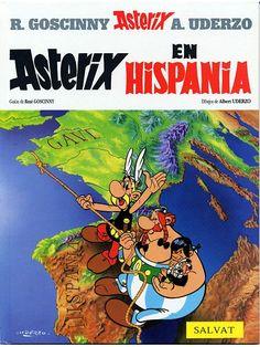 Astérix en Hispania / guión de René Goscinny ; dibujos de Albert Uderzo ; [traducción, Víctor Mora]