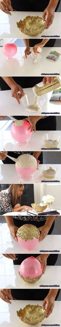Are you kidding me?! It's a bowl made out of glitter!
