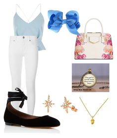 """""""Wendy Darling (Peter Pan, casual)"""" by jlcisternelli on Polyvore featuring River Island, Burberry, Tabitha Simmons, Celine Daoust and Calvin Klein"""