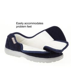 Mens Extra Extra Wide Slippers Swollen Feet Diabetic