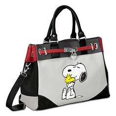 It's a Snoopy handbag! Are you listening to me? IT IS A SNOOPY HANDBAG!