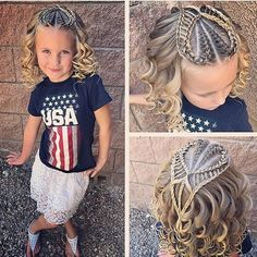 """1,474 Likes, 27 Comments - Ashley Cardon (@ashley_cardon_hairstyles) on Instagram: """"All ready for the week! We added a couple French braids on the sides with a couple more braided…"""""""
