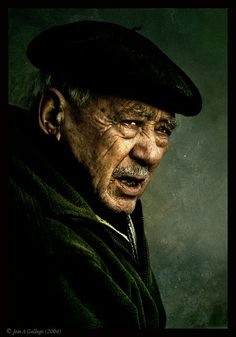 Old man by Jose A Gallego  Tags: portrait, photo, face, old, man