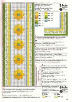 Cenefas en punto de cruz | Aprender manualidades es facilisimo.com