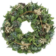 <strong>Urban Florals</strong> Blue Sky Natural Elements Wreath