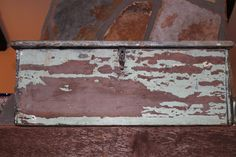 antique wooden box - lovely filled with flowers